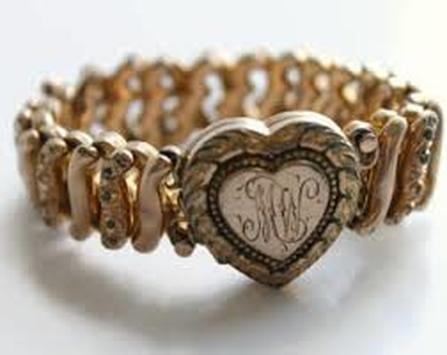 American Queen expandable sweetheart bracelet