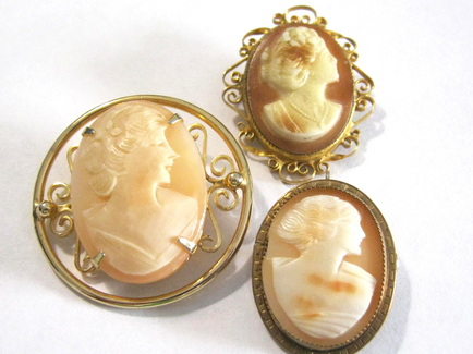Found in the jewelry box blog danielle olivia tefft jewelry vintage cameos aloadofball