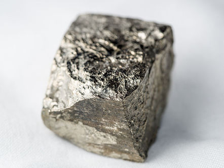 iron pyrite specimen wikimedia commons