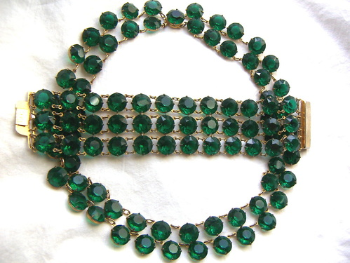 Emerald green vintage costume jewelry set  sc 1 st  Found in the Jewelry Box Blog - DANIELLE OLIVIA TEFFT JEWELRY ... & Found in the Jewelry Box Blog - DANIELLE OLIVIA TEFFT: JEWELRY ...