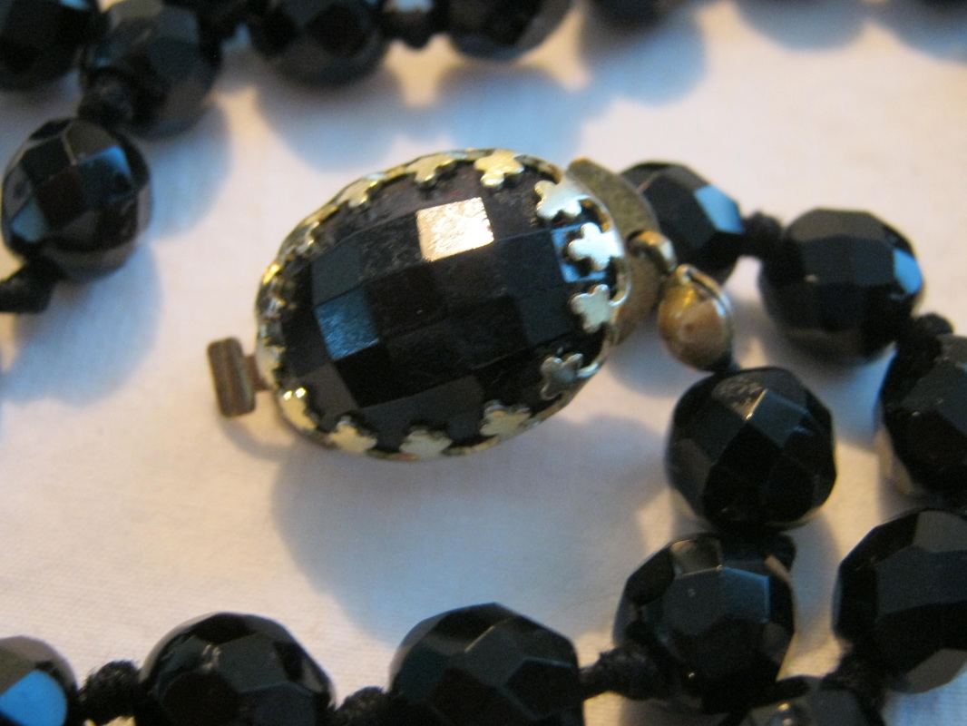 French jet beads