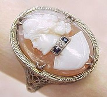 cameo habille ring
